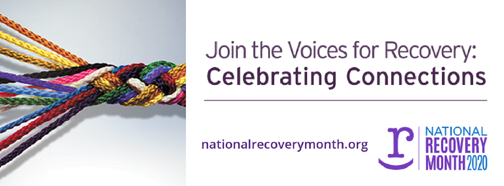 National Recovery Month 2020 - Join the Voices for Recovery