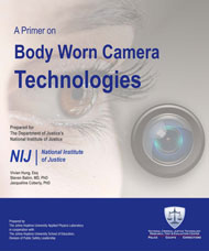 Poster for NIJ's Primer on Body Worn Camera Technologies