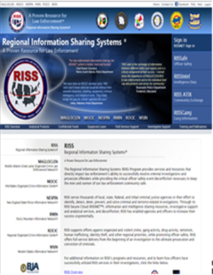 Thumbnail for Regional Information Sharing Systems (RISS) Services