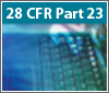 Training on 28 CFR Part 23