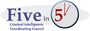 """Five in 5"" logo"