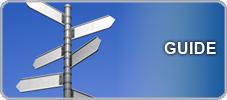 Image of road sign as guide