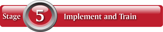 Stage 5: Implement and Train