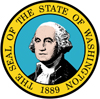seal of the state of Washington logo