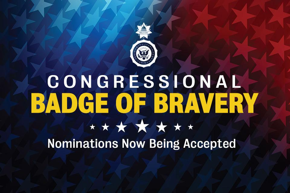 Congressional Badge of Bravery promotional image