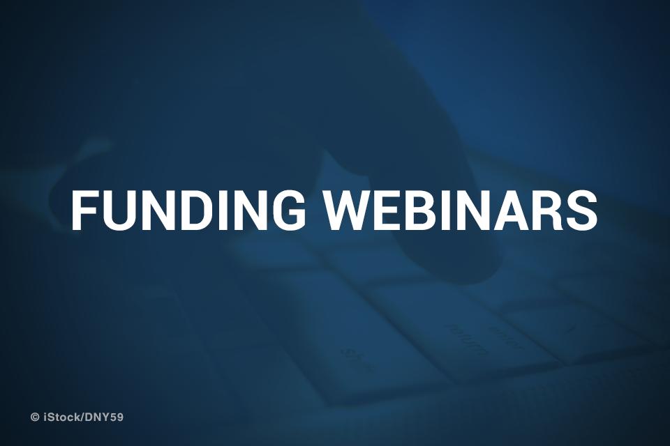 Funding Webinars promotional image