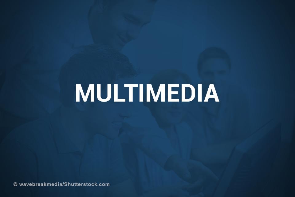 Multimedia promotional image