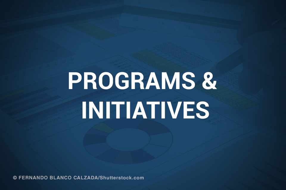 Programs & Initiatives promotional image