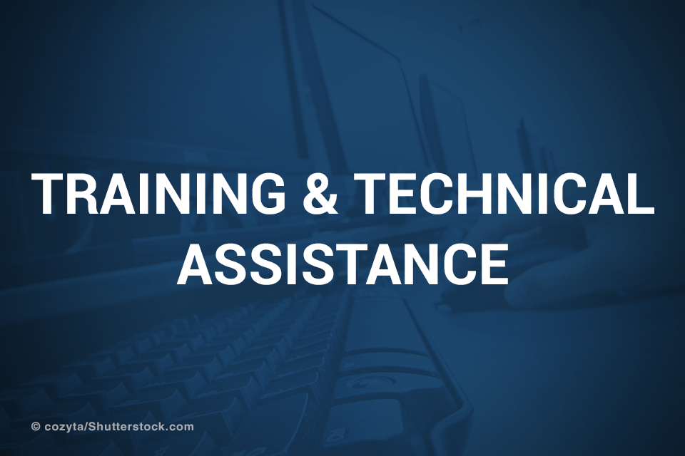 Training & Technical Assistance promotional image