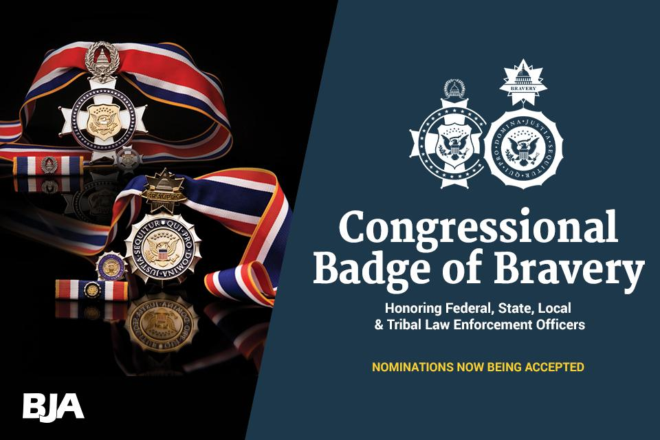 Congressional Badge of Bravery nominations being accepted